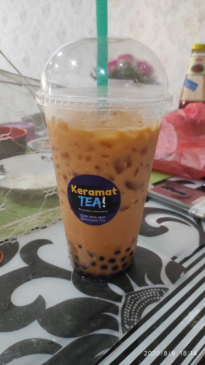 Pearl Milk Tea terakhir sebelum diet esok. #diet #bubbleteakeramat #jumbo https://t.co/0gCc4zUCW0
