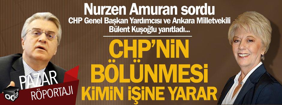 Nurzen Amuran sordu, CHP Genel Başkan Yardımcısı ve Ankara Milletvekili Bülent Kuşoğlu yanıtladı: CHP'nin bölünmesi kimin işine yarar... https://t.co/OEmxS4as0n https://t.co/1tNGcJXZn4