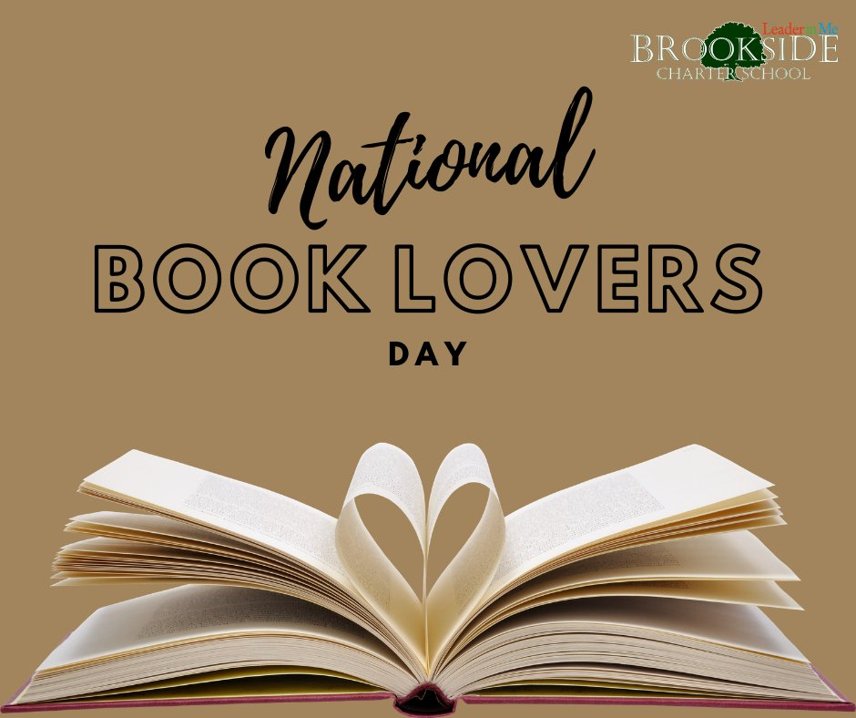 It's #NationalBookLoversDay! Who loves books? What are you reading? #books #booklove #read #reading #leadersarereaders #brooksidecharterpic.twitter.com/PObiRqUxVM