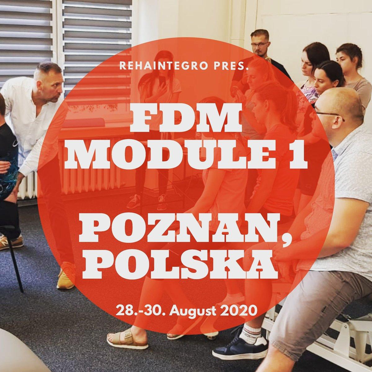 FASCIAL DISTORTION MODEL MODULE 1 in Poznan, POLSKA  at REHAINTEGRO 28.-30.8.2020 #fascialdistortionmodel #fizjoterapia #fizjopic.twitter.com/m2bBVrPq0p