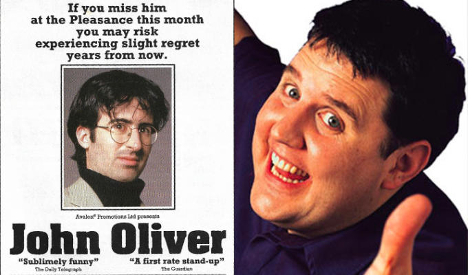 The year Peter Kay played the Edinburgh Fringe | Some choice reviews from the 2002 festival http://zpr.io/Hpxqwpic.twitter.com/RDfPPpf8pW