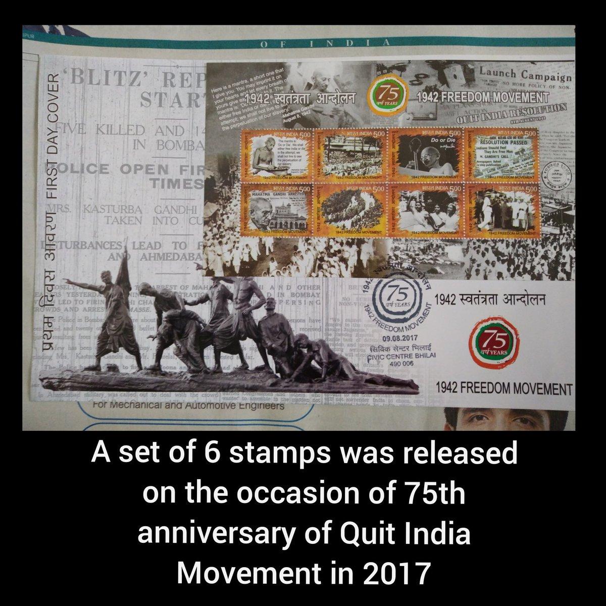 Long live Quit India Movement.  #Gandhiji #History #hisdarkmaterials #Gandhi #Indian #historyofindia #magazine #magazines #QuitIndiaMovement #QuitIndiaMovementDay #QuitIndiaMovement #QuitIndiaDay #quit #Chhattisgarhpic.twitter.com/9Q5Q6kqPEH
