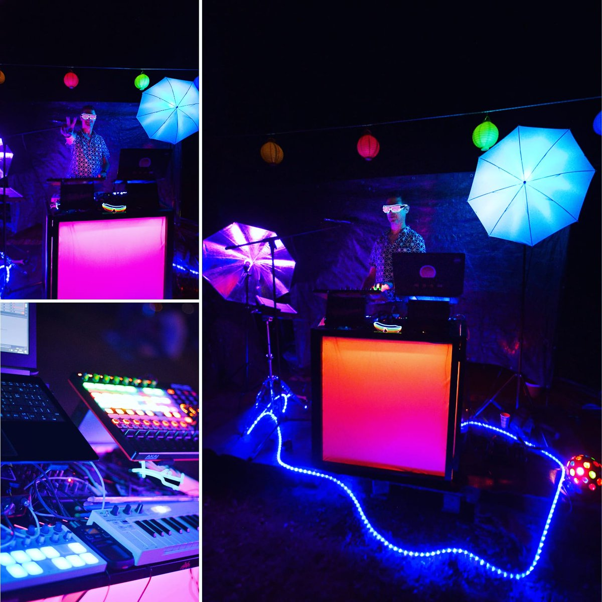 ...and suddenly the dream come true  · · #tousunislanuit #live #dj #synthwave #synthpop #retrowave #80s #cyberpunk #techno #djlife #mix #vaporwave #electropic.twitter.com/zIV6aXemPI