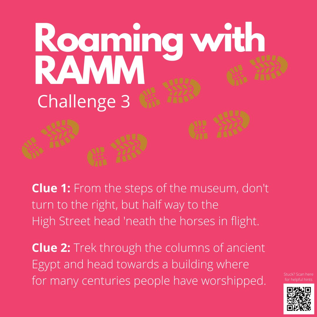 It's ramblin' time!  Give Roaming with RAMM: Challenge 3 a go - if you think you can unravel the clues. ⁠ https://soo.nr/xkfm ⁠ #roamingwithramm #devon #exeter⁠  #familyfun #kids #outdoorfun #escapegame #adventurehunt #thingstodoexeterpic.twitter.com/OXEvEC4pdv
