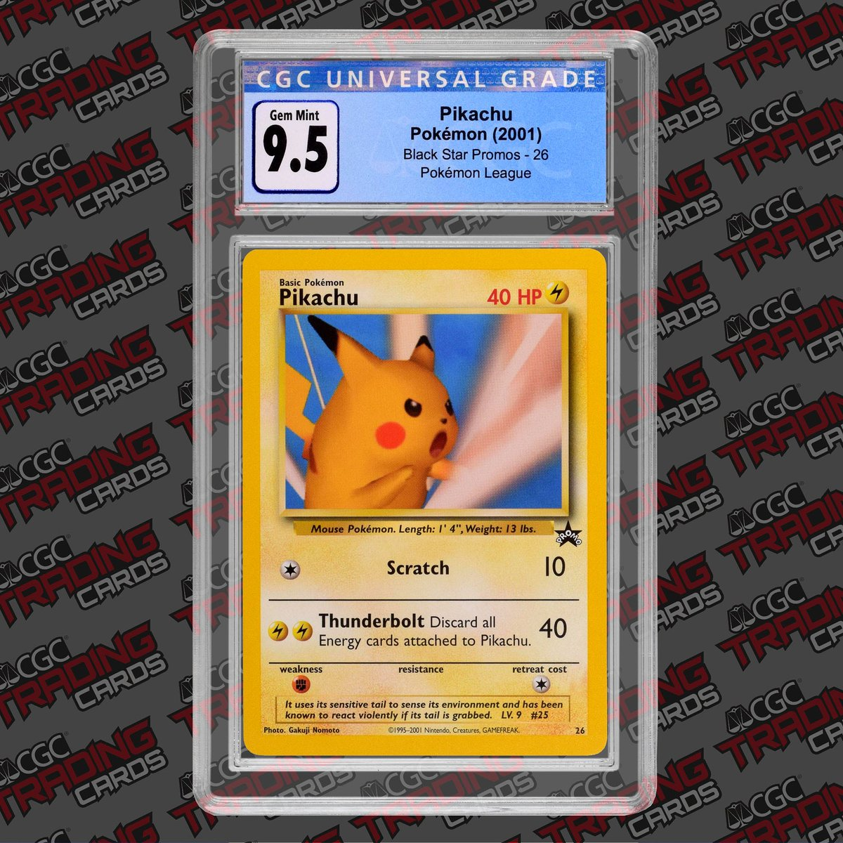 This Snap Pikachu used a photo taken from the original #PokémonSnap game released in 2001. Have you heard Nintendo is working on #PokémonSnap2!? Exciting! #CGC #CGCComics #CGCCards #CGCTradingCards #TCG #Pokémon #Pokemon #PokémonTCG #PokemonCollector #PokemonCards #PokemonTCG