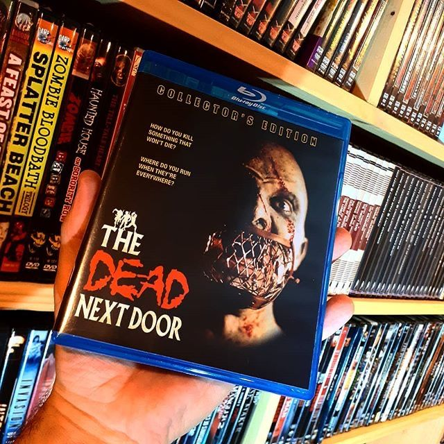"Reposting @rampikedesigns: ... ""Haven't seen this one in a while. Time to fix that! • #thedeadnextdoor #jrbookwalter #tempedigital #horrormovie #horrorlife #bluraycollector #horrorcollector #horrornerd #instahorror"" pic.twitter.com/P0ezcVShFt"