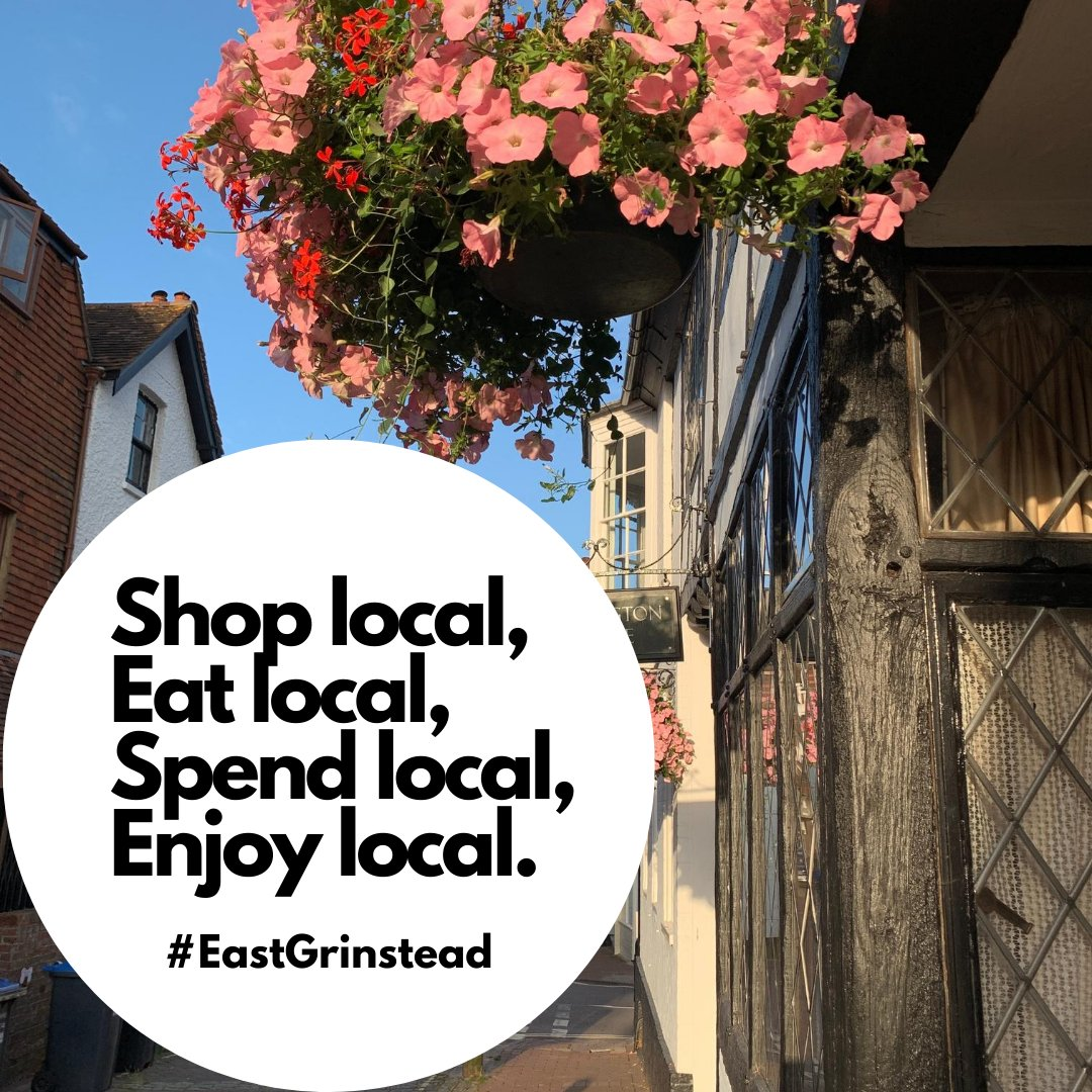 In these difficult times for small businesses in the town let's do all we can to support them and bring them back stronger than ever #EastGrinstead #shoplocal @egcouncil @MSDCnews @WSCCNews #buylocal #SmallBiz https://t.co/Ca98bOIl0Y