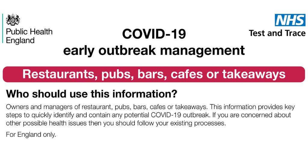 test Twitter Media - NHS Test and Trace has published advice on how to recognise, contain and report outbreaks of Covid-19 on your premises. There's a series of action cards to download  for different types of business. Details here. https://t.co/neKJik1WA7 https://t.co/xx21Els6xv
