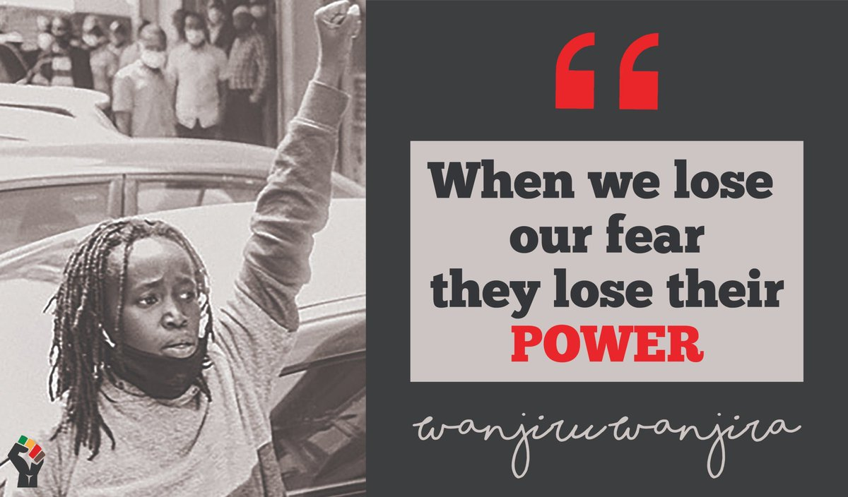 No fear anymore  #NoFear  #CourageON  #NoArbitraryArrests.pic.twitter.com/mHKmcb22VF