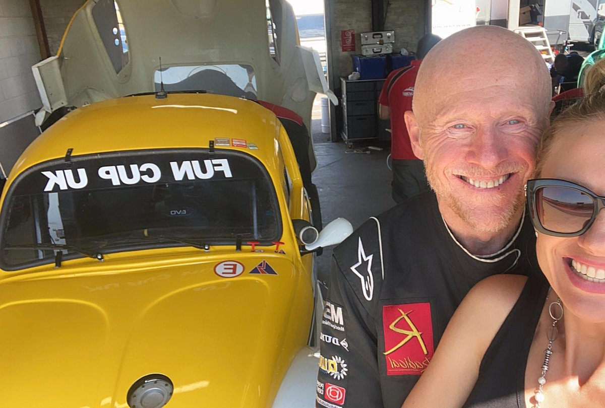 A #FridayFunday post that writes itself. I'm at @SnettertonMSV today preparing for tomorrow's first races in @FunCup_UK's rescheduled endurance championship season. 🏎️  Definitely feeling the #heatwave here! 🌞 #motorsport #supercar #racing #lovebug #funcup https://t.co/yJ2VlSzhUv