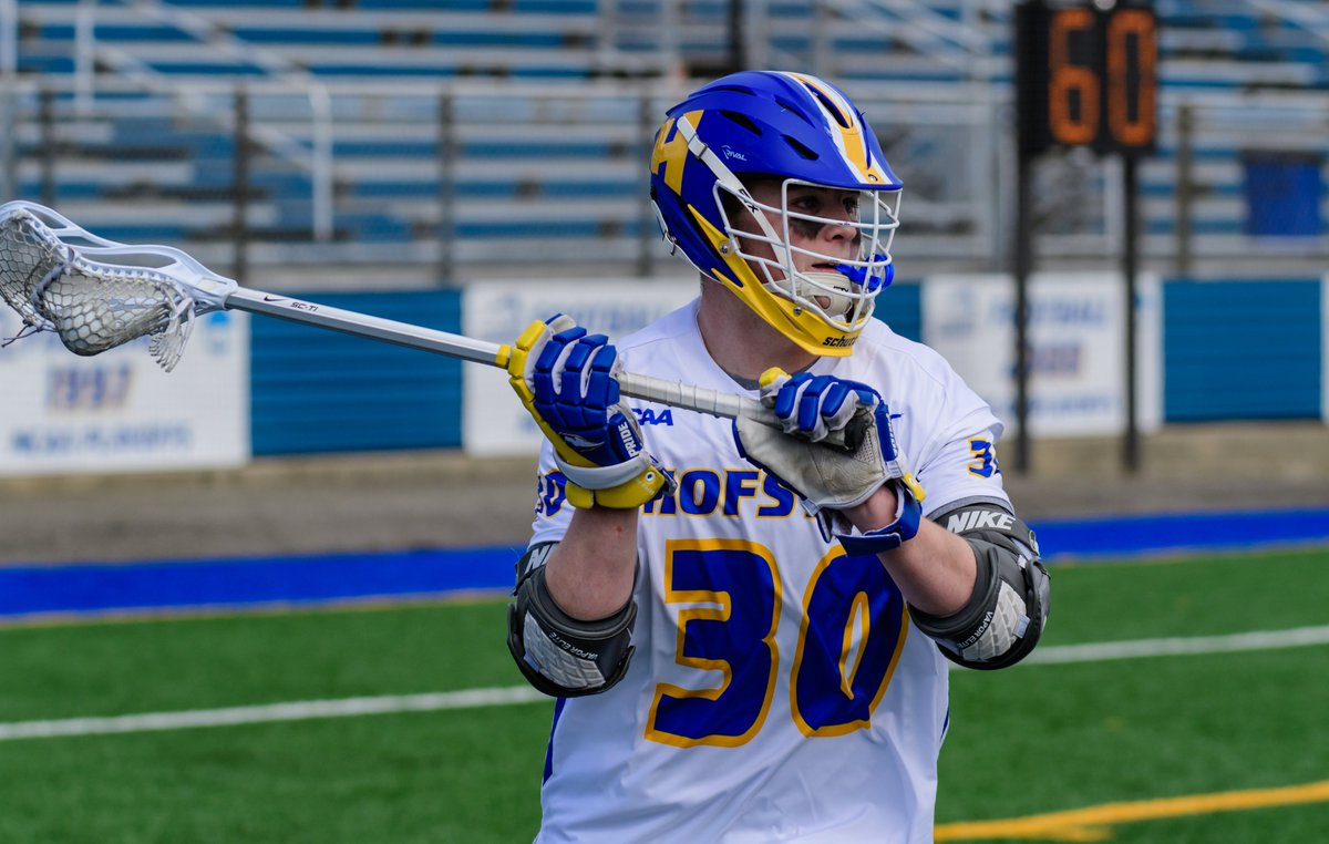 𝙅𝙖𝙢𝙚𝙨 𝙋𝙝𝙞𝙡𝙗𝙞𝙣 continued to show improvement into his third year in the 🟡🔵 of #Hofstra with 11 points on 7 goals and 4 assists, including a personal-best two goal/two assist performance against Wagner.  Can't wait to see more of @james_philbin! #RoarWithPride https://t.co/A4iX4qXc11
