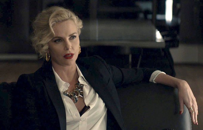 Happy birthday to Charlize Theron the action movie goddess. thank you for serving the gay nation so well