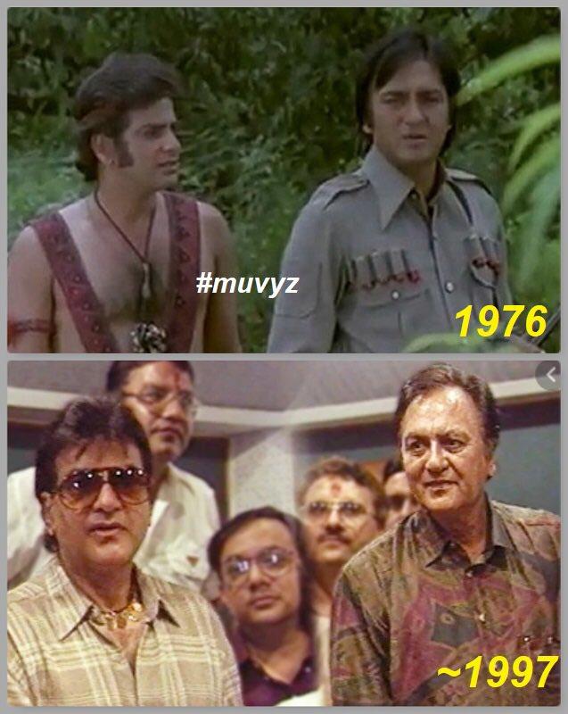 #Jeetendra #sunildutt #Legends #BollywoodFlashback #FlashbackFriday #70s #90s #muvyz #muvyz080720pic.twitter.com/yKnKyWbO9p