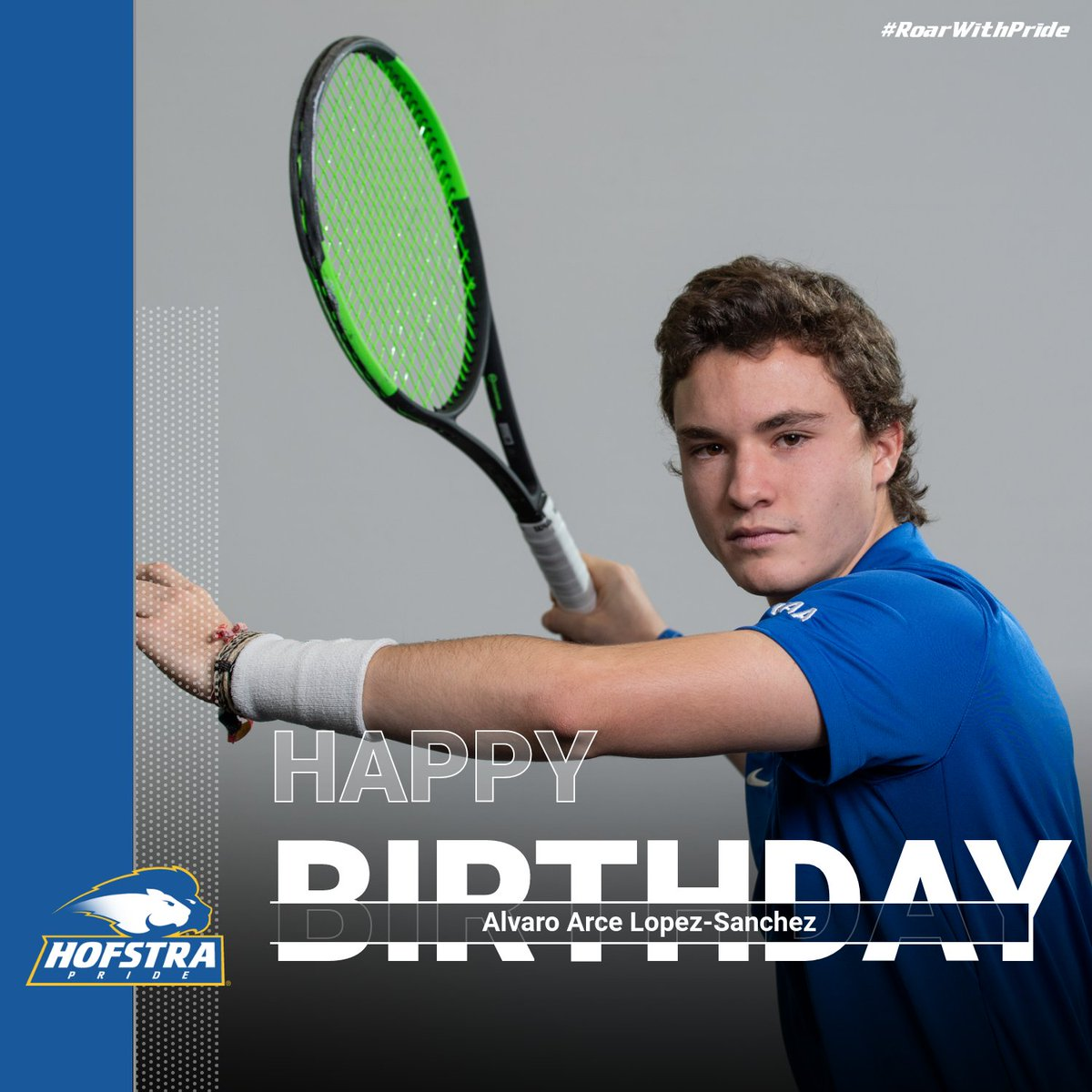 A pair to celebrate as we send Happy Birthday wishes to Alvaro Arce Lopez-Sanchez and assistant coach @d_reinharz (1 day late) 🎂🎈🎈❗ #Hofstra #RoarWithPride https://t.co/Bs0mQUzDu8