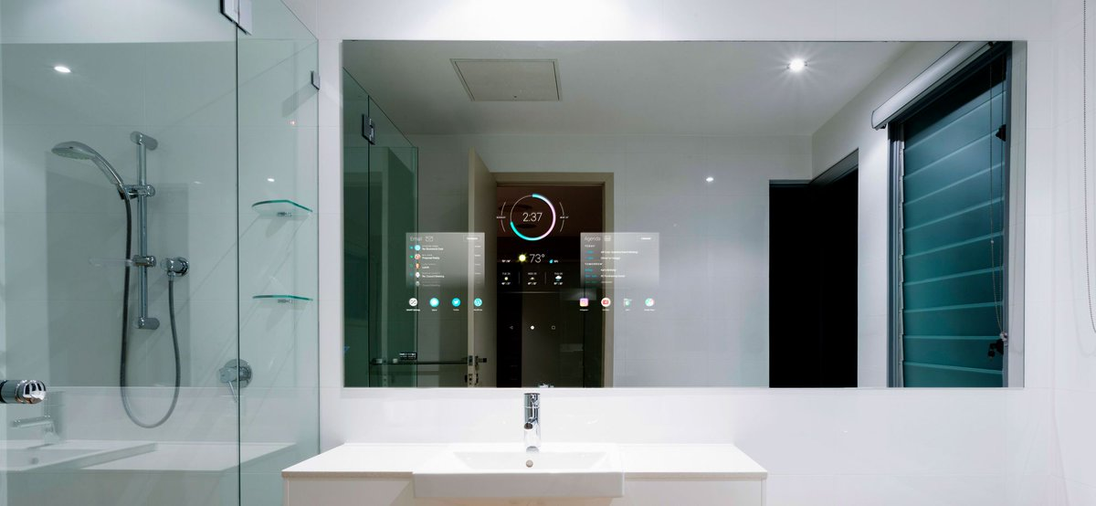 Can you imagine checking the day's weather forecast in the bathroom mirror while getting ready for school or work? Experts say that's the type of technology we will soon all have in our bathrooms. https://bit.ly/3a5InYhpic.twitter.com/X9C5JmrlTC