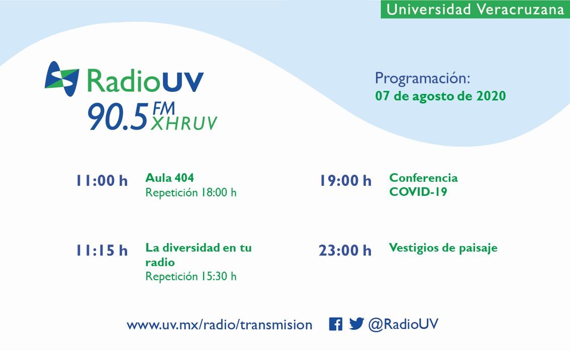 ¡#FelizViernes a nuestros radioescuchas!  Les compartimos la #ProgramaciónRadioUV. 📻 90.5 FM 📲 App Radio UV 💻 https://t.co/WfczY0S4Qx https://t.co/p0lcD53dS7