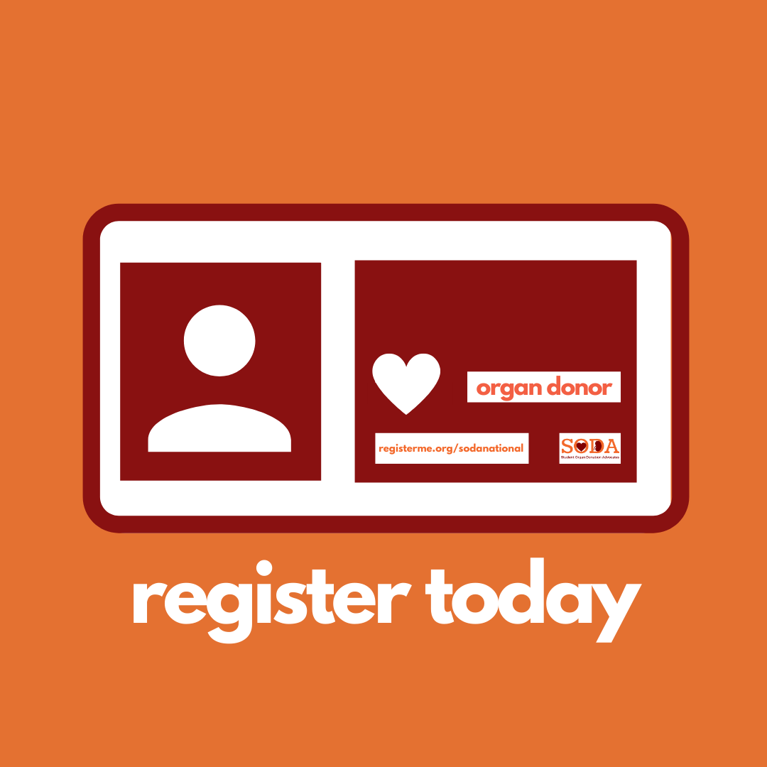 If you have a heart on your driver's license that means that you are registered as an organ donor. If you don't, SODA can help make that http://happen.Click the link to register as an organ donor! https://bit.ly/RegisterAsAnOrganDonor… #donatelife #organdonation pic.twitter.com/i5UrPwiX4e