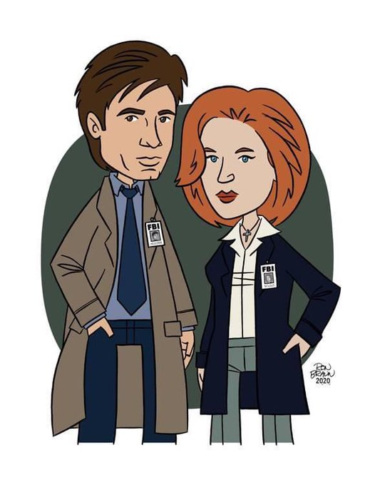Happy 60th Birthday to David Duchovny and 51st Birthday to Gillian Anderson (on 8/9)! The truth is out there!