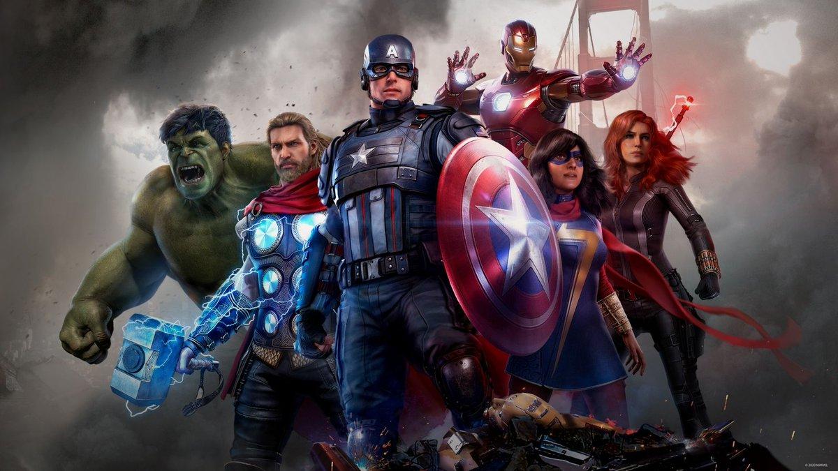 لدينا قيف اواي على السريع لثلاثة اكواد بيتا لعبة Marvel Avengers على جهاز PS4 للمشاركة و دخول السحب :  رتويت للتغريدة  السحب بعد ساعات قليلة فقط   بالتوفيق للجميع.  #جيمرز #قيمرز https://t.co/P8z6A3cqmJ