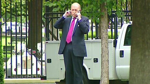 Every now and then, even us old guys like a little pat on the back, says Larry Kudlow, telling reporters he was on the phone with Pres Trump, who praised his appearances on cable news this morning hailing the new jobs report and drop in the unemployment rate.