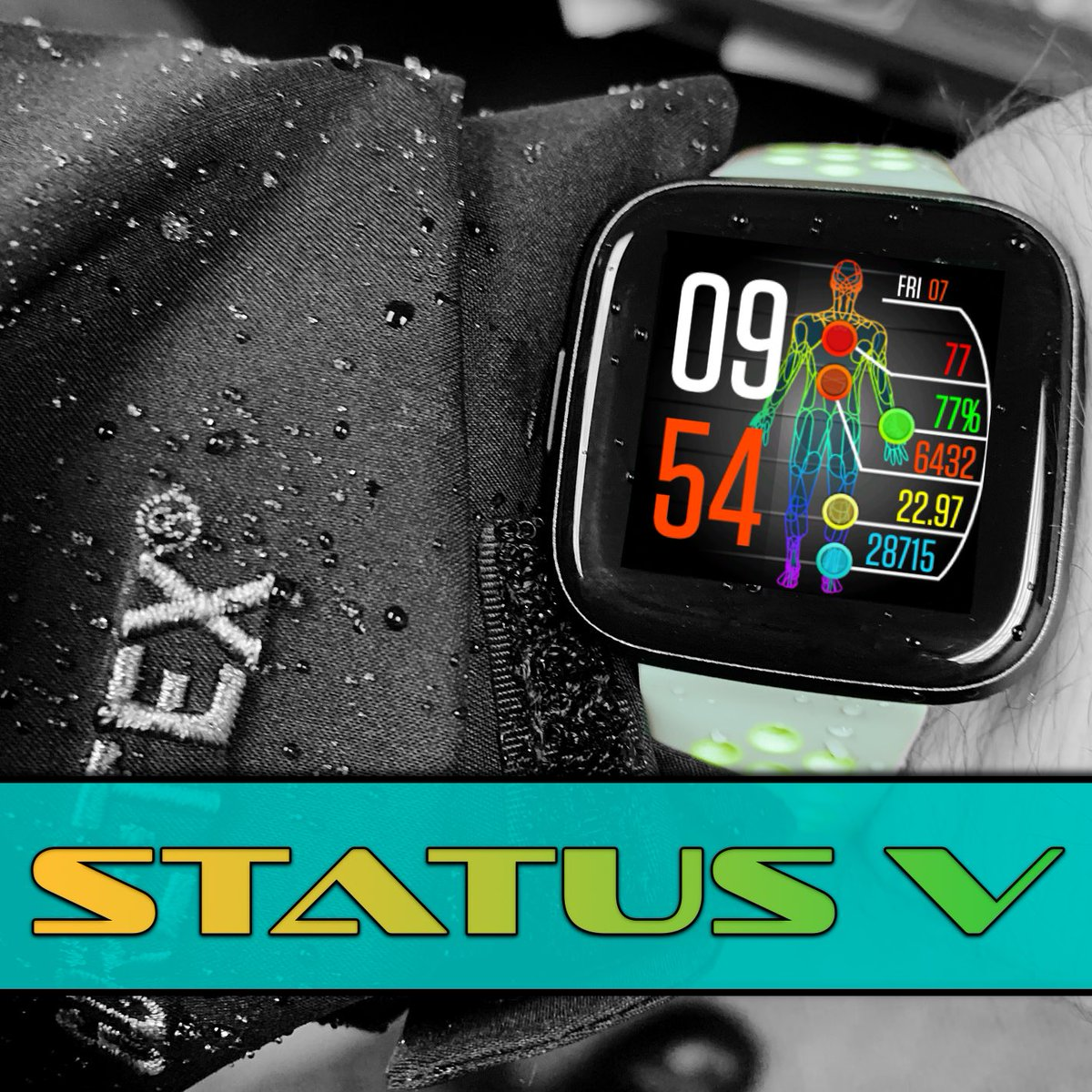"""Status V Update: """"We can rebuild it. We have the technology... Better, stronger, faster."""" https://gallery.fitbit.com/details/8ffadeb6-abe6-4ea7-88e4-22e30d78b488…  #made4fitbit #fitbitversa #fitbitversa2 #fitbit #fitness #clockface #watchface @NiVZpic.twitter.com/GhkaCfaNyG"""