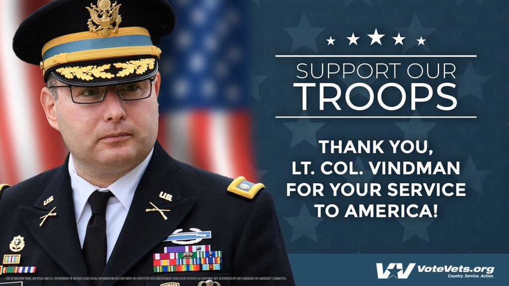@realDonaldTrump Alexander Vindman. A Purple Heart recipient whose military career you destroyed because he told the truth. Donald Trump is a disgusting coward. https://t.co/0BTv408EuE