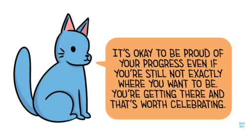 Celebrate all the little victories 💙 If you're in crisis, we're here 24/7 to support you at: 866.488.7386 or text/chat https://t.co/hxtScqt870 📲 🎨 art by @EmmnotEmma 🎨 #lgbtq #trans https://t.co/FBnXjicTBW