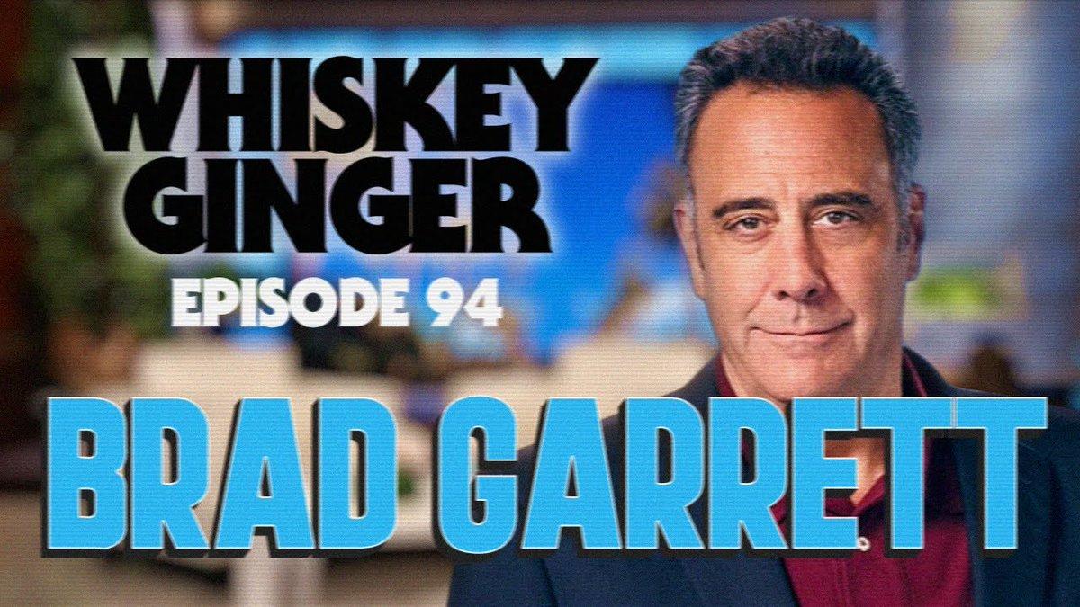 Whiskey Ginger - Brad Garrett - #94 https://t.co/m144r2UpIS Via @CheetoSantino #WhiskeyGingerPodcast #AndrewSantino #Podcast https://t.co/y7d2dt0VSN