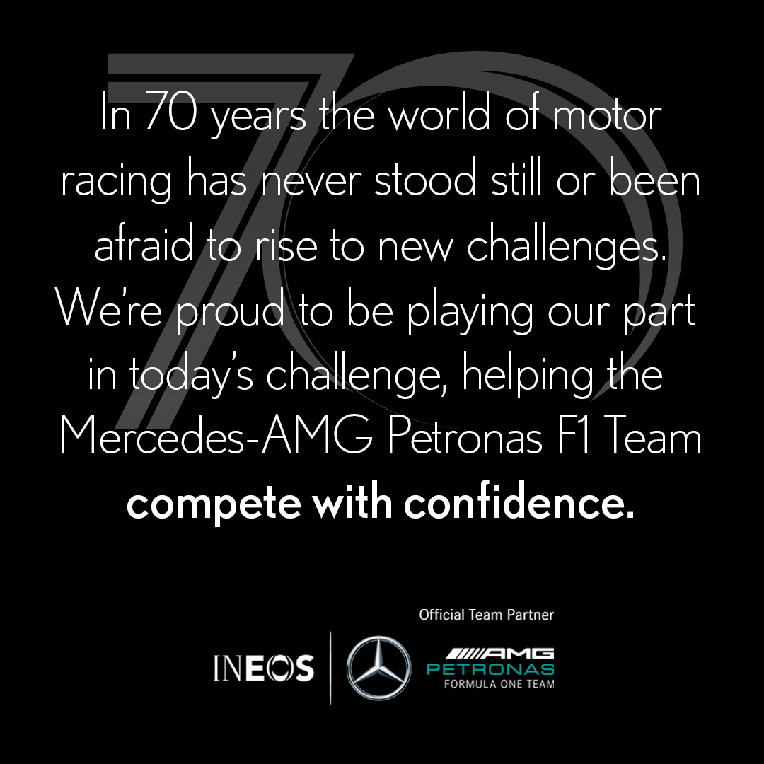 We're looking forward to this weekend's historic 70th anniversary race at Silverstone with our partners @MercedesAMGF1 https://t.co/bGm4UWjvO7