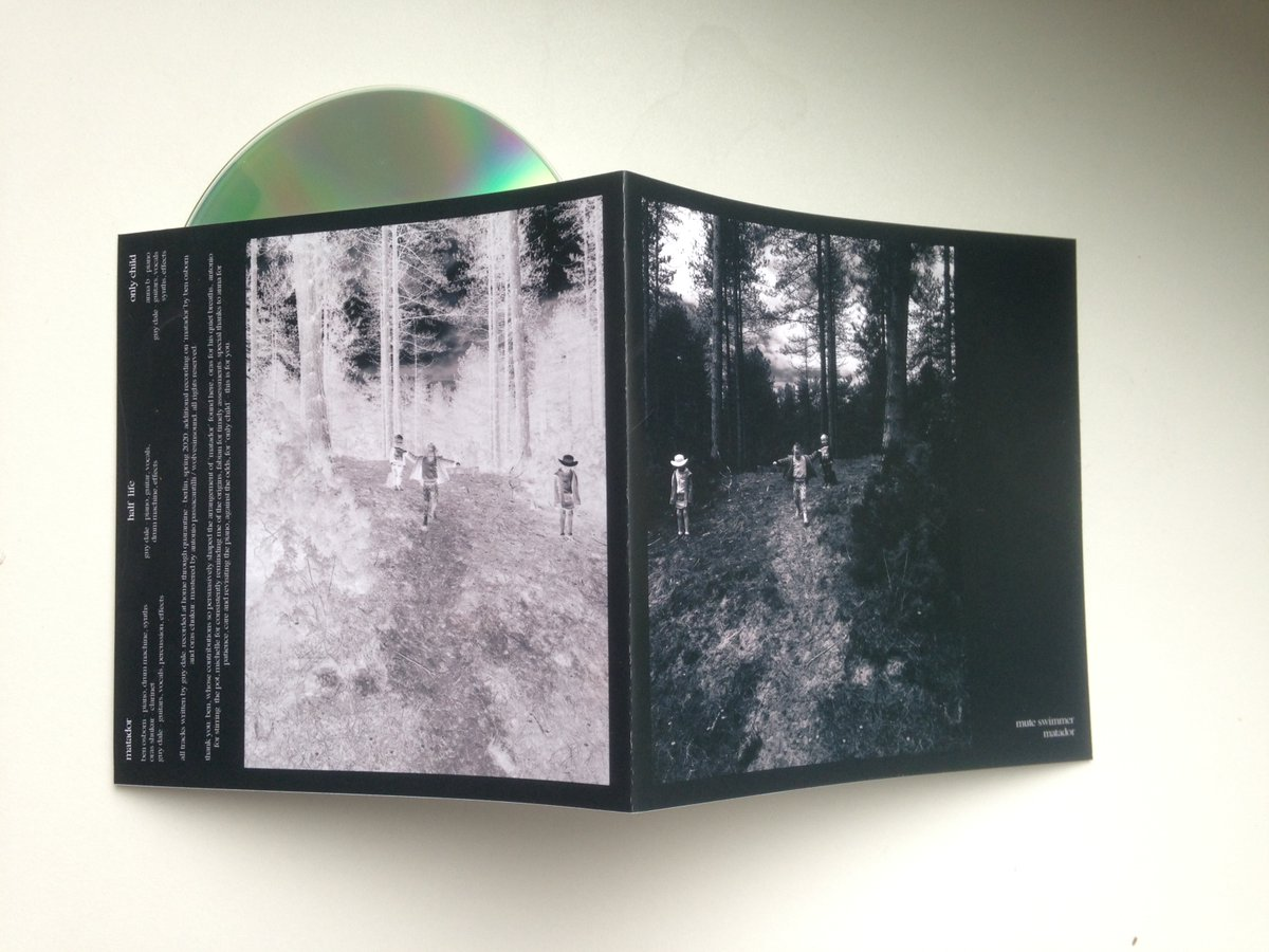 Super limited hand made and numbered Cdr out today #BandcampFriday https://muteswimmer.bandcamp.com/album/matador I'm donating 10% of all of today's sales to a Lebanon relief charity. pic.twitter.com/uAkgFv9UxK