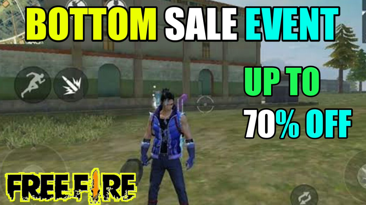 Bottom Sale Event purchase with 70% off Free Fire Battleground https://youtu.be/DpEwP3U4WPE via @YouTubepic.twitter.com/mr2QI0jy5d
