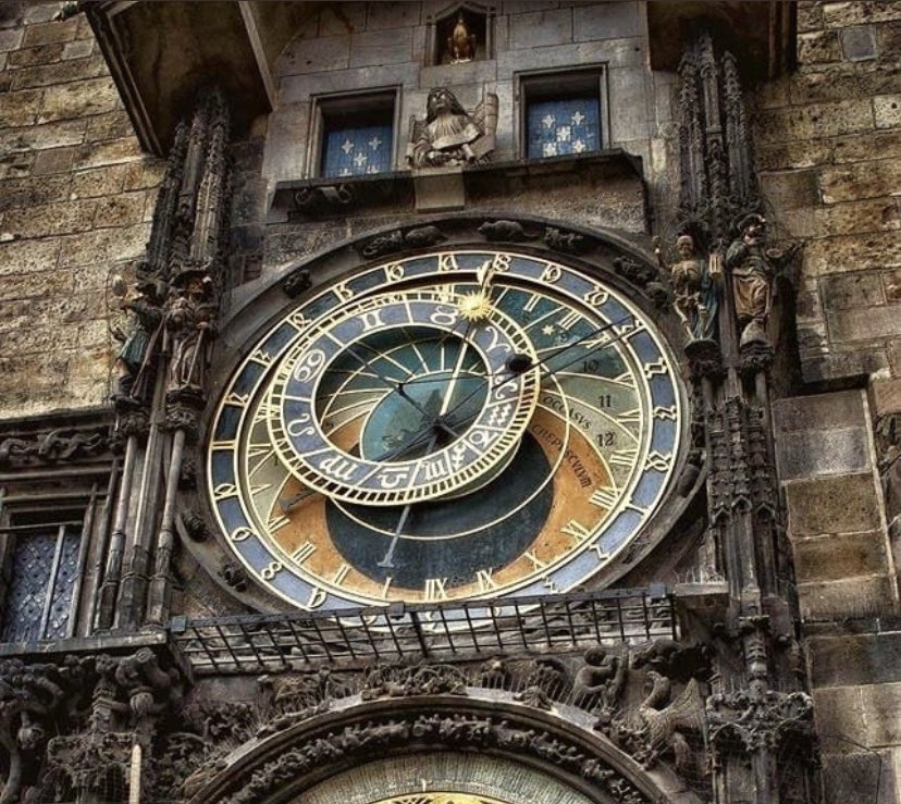 I just think that we as a society don't appreciate astronomical clocks enough