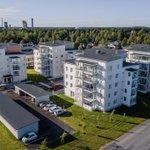 Image for the Tweet beginning: Oulun Kynsilehtoon valmistunut asuinkortteli sisältää