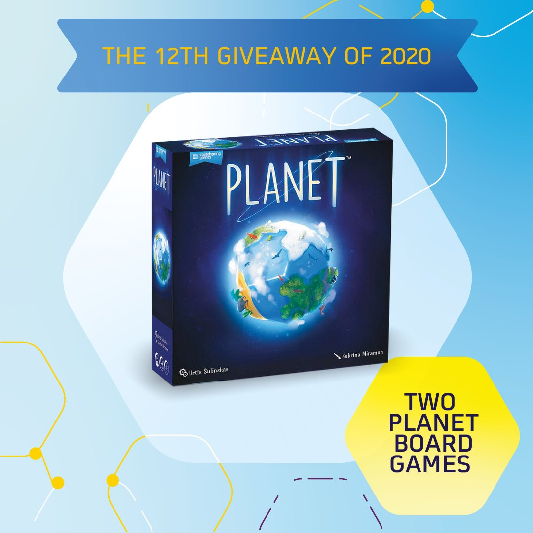 The 12th giveaway of 2020… 2 planet board games! 2 lucky people will be chosen at random to win one game. Share this post, make sure you're following @Goodfellowltd & tag two people to be in with the chance to win!  #STEM #Competition #science #environment #game #giveawaypic.twitter.com/u2lWAMXc5Z