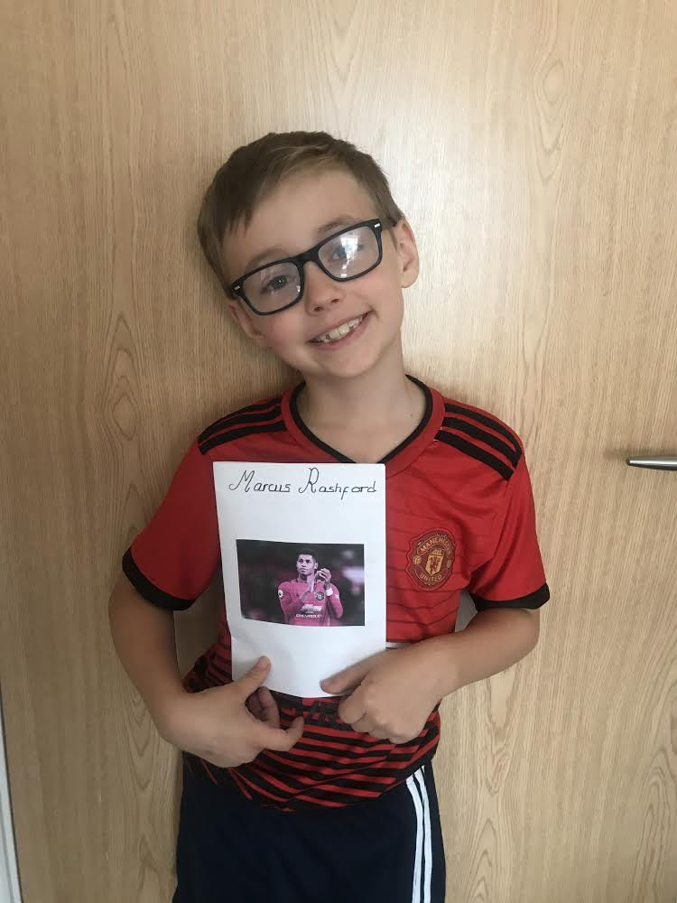Joshua, your mum Lianne sent me your school project and I wanted to say a big thank you! You have put so much effort in to it and your handwriting is so neat! It really made me smile 🤩♥️ https://t.co/TVGmUSzMtj
