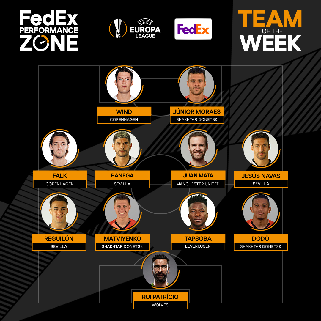 Introducing the FedEx Performance Zone Team of the Week. ⚽  Your standout player is ________ 👇  #UELFPZ | https://t.co/PN7GBtd7fB https://t.co/muxDbx4AVC