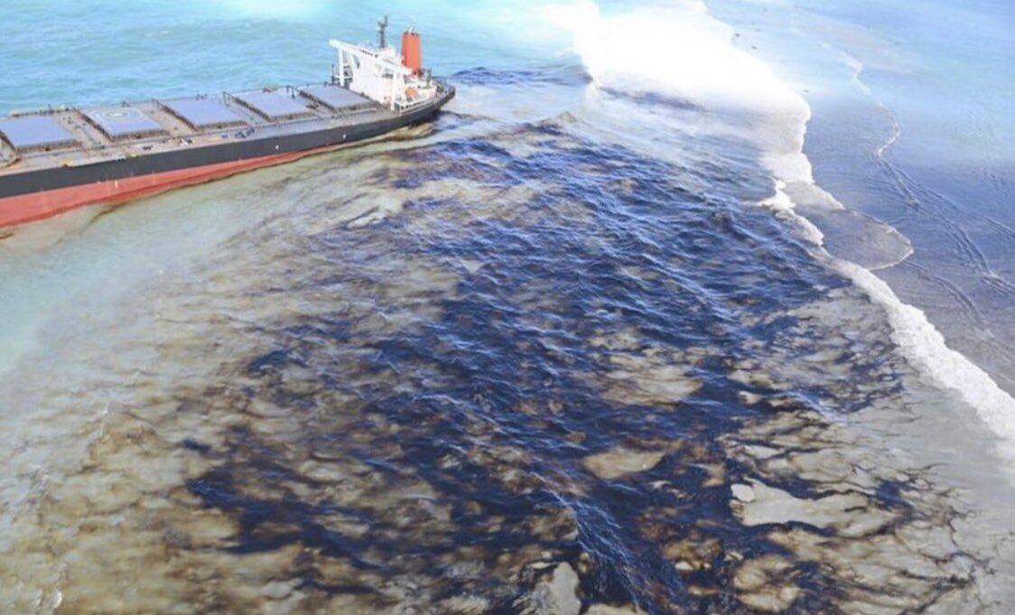 Quand le gouvernement va-t-il reconnaître qu'il s'agit d'une marée noire à l'île Maurice ? Qu'a-t-il fait ces 13 derniers jours pour l'empêcher ? @PKJugnauth https://t.co/c5KCdn3PKr