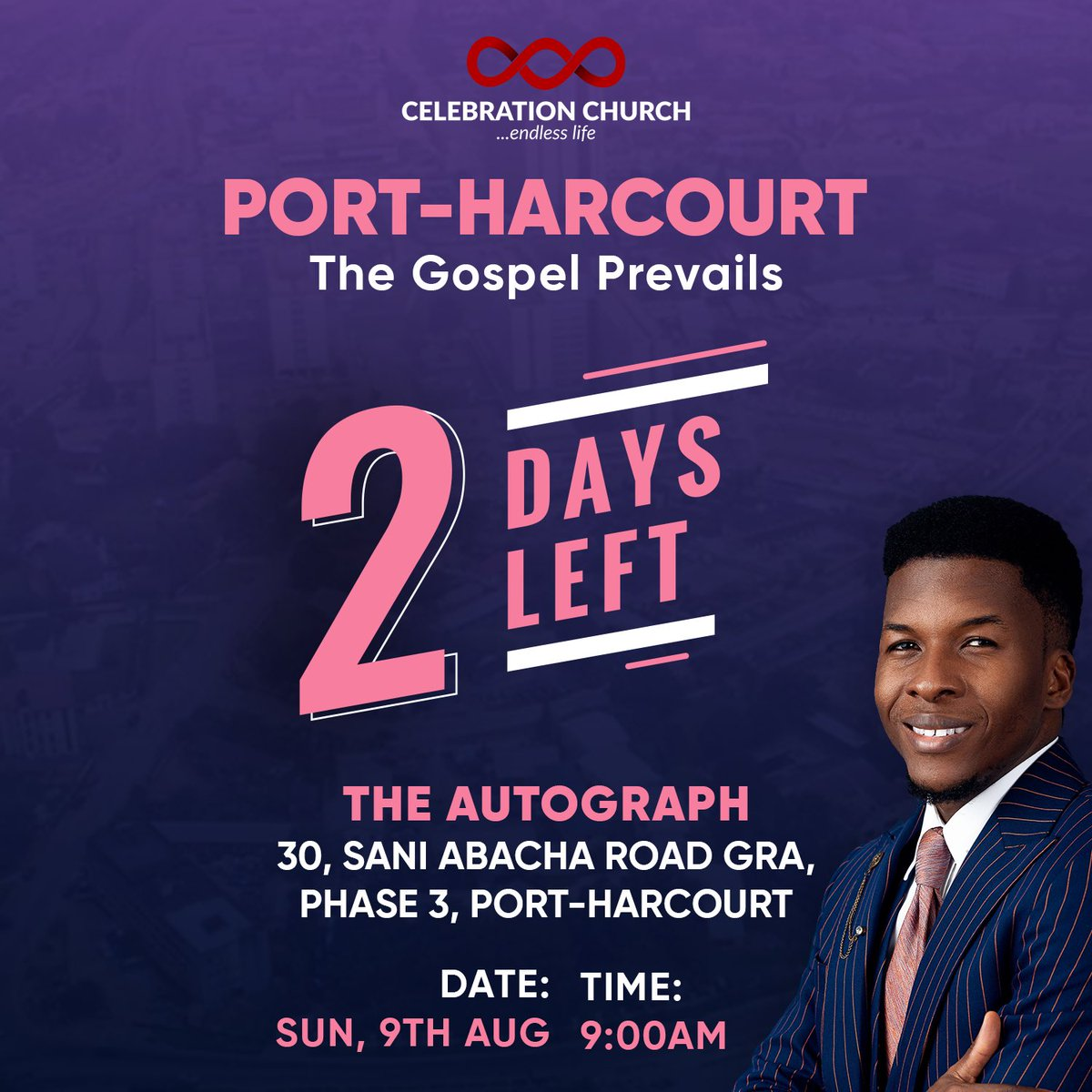 A bit of History. 11/11/2012 @cci_lagos was birthed with the vision to spread the undiluted gospel all over the world. 6/01/2018 @CCI_Abuja held it first service and continued to spread this gospel. Guess what! In 2 days time, Port Harcourt will welcome CCI with the gospel