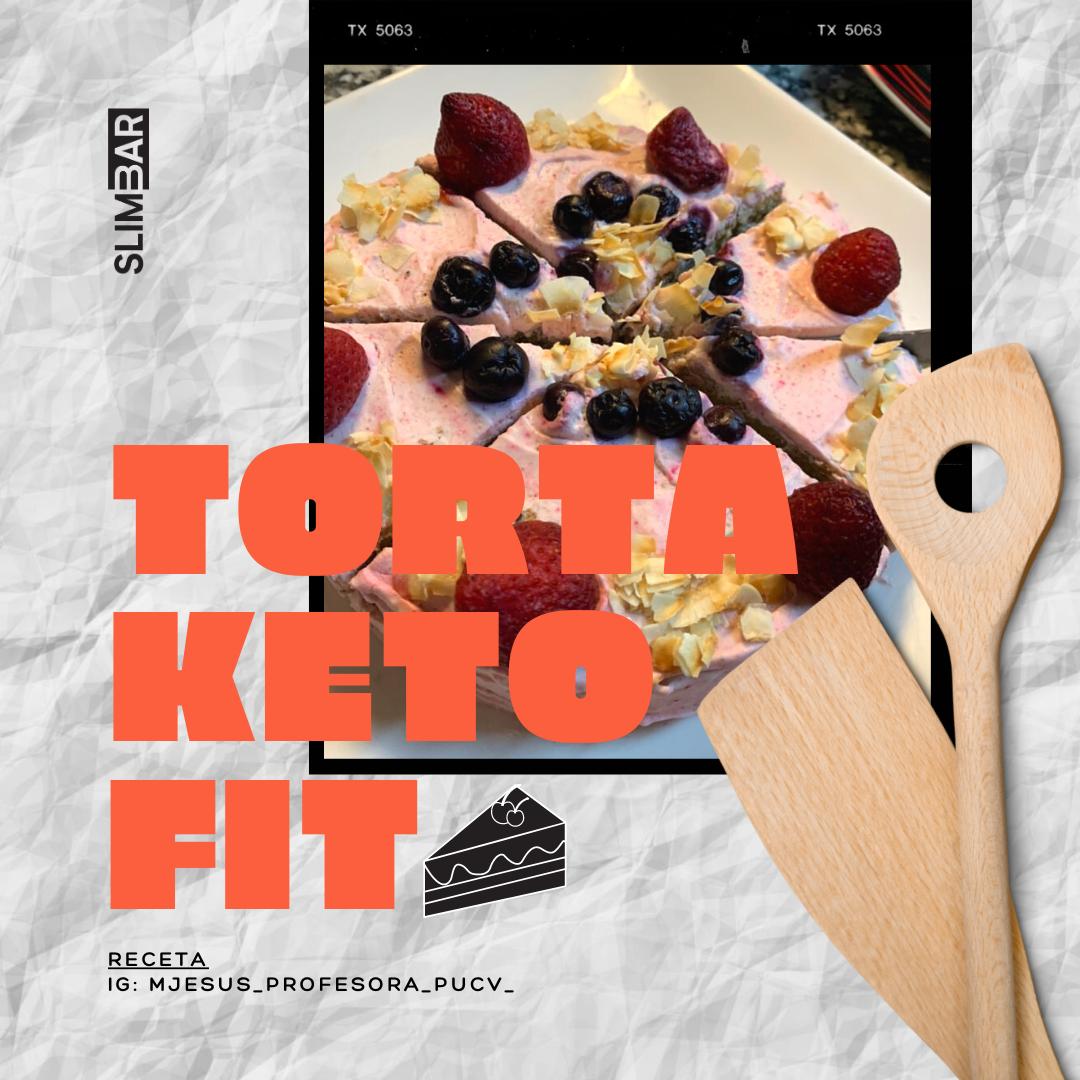 Hacer esta «Torta Keto» es más fácil de lo que crees. Una tentación irresistible, coronada de unos nutritivos frutos rojos. pic.twitter.com/3kDp95rKVm