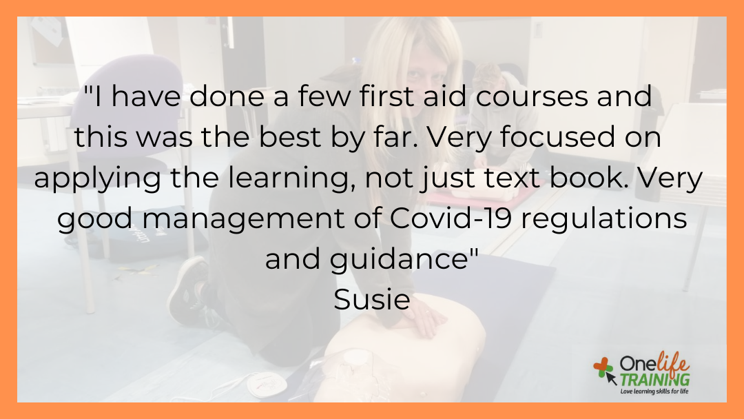 We take the safety of our team and yours seriously. Please get in touch if you would like to attend class room led training where you can concentrate on the learning, not worrying about safety measures #firstaidtraining #testimonial #FeedbackFridaypic.twitter.com/dec1UVSieo