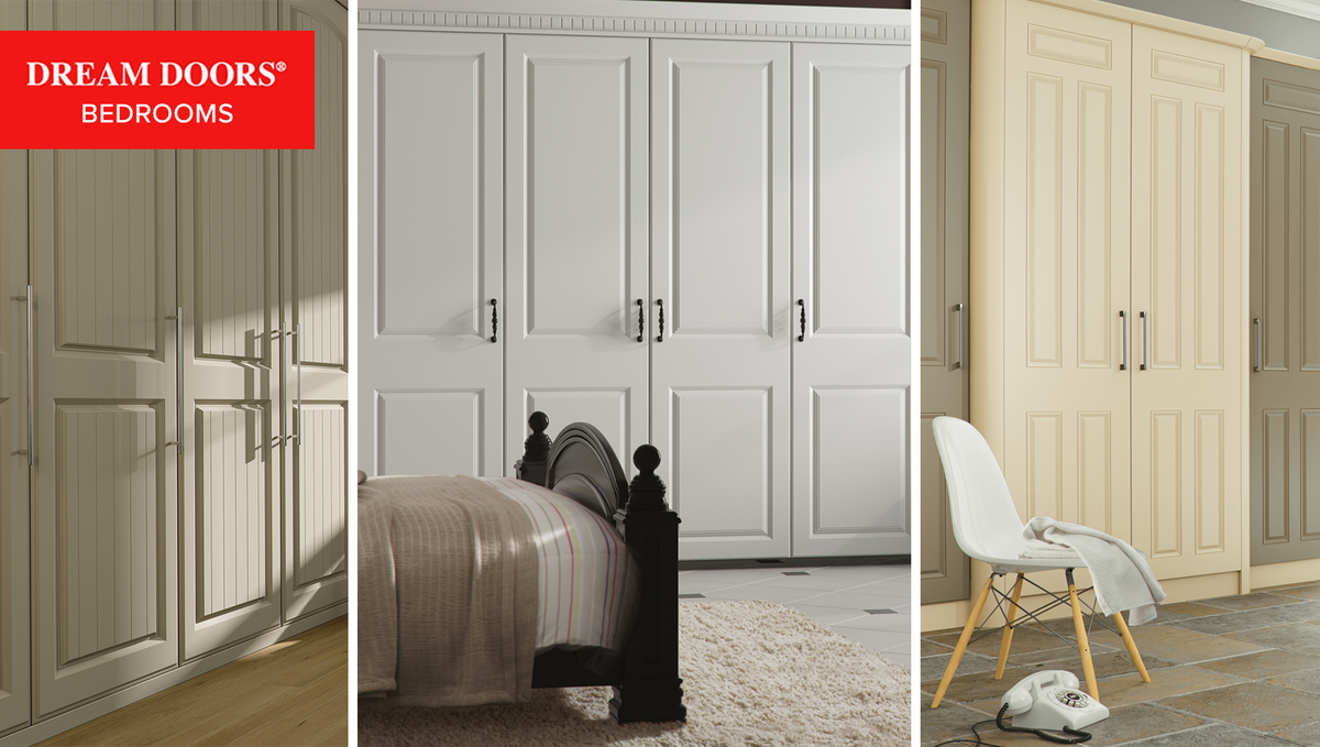 At Dream Doors, we supply, customise, deliver and install quality made to measure wardrobe doors from leading UK manufacturers.   Visit our bedroom wardrobes website to view our full range of fitted and sliding wardrobes: https://t.co/rcnrhu5qGB  #bedroom #homedesign https://t.co/yX0trz0Um4