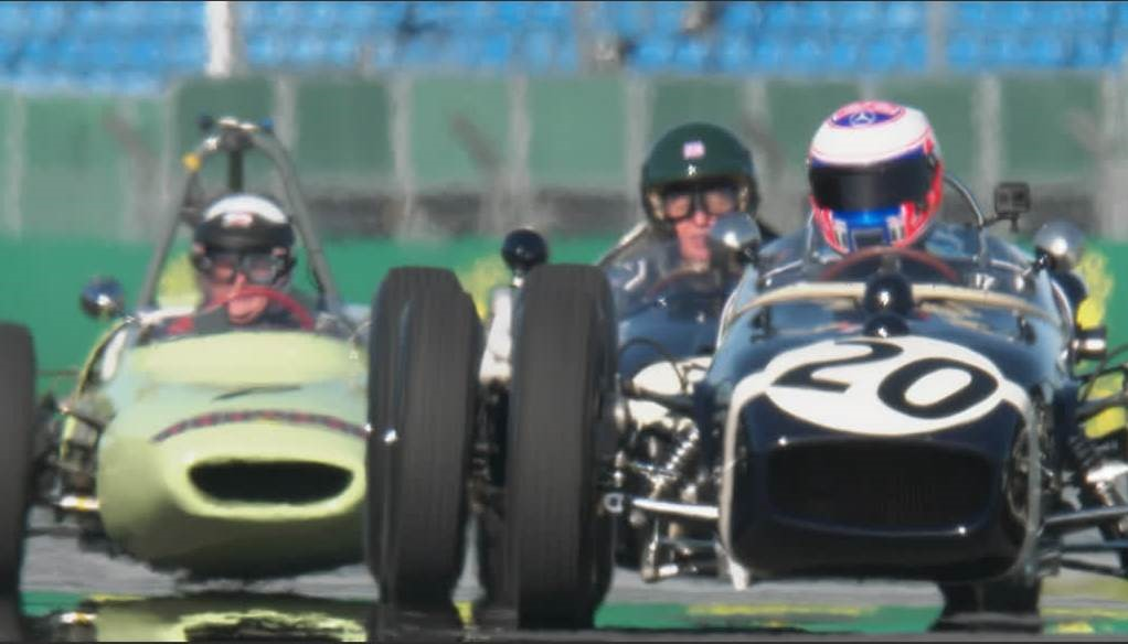 Well that was something a bit special today... Three cars driven in period by Sir Stirling Moss, today piloted by @SkySportsF1 own @MBrundleF1 @JensonButton and @johnnyherbertf1 on a gloriously sunny day at @BRDCSilverstone @SilverstoneUK   😋   #SkyF1 #F1 #70thAnniversarygp @F1 https://t.co/HfgaBtDmNb