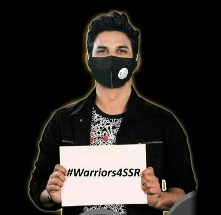 Hey SSRian's you can use this photo if you want to. Retweet or tweet maximum!! So that it can reach out to all.  #Warriors4SSR