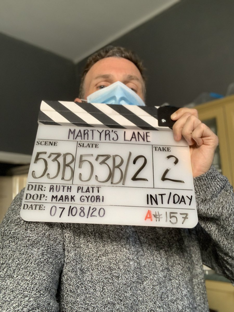 A little weird but amazing and very grateful to be back on a set. Doing a pick up day on @martyrslane . Surreal to see everyone on set in masks but also fantastic to see our industry finding a way to work in spite of the restrictions.  @britishfilminstitute @ruthario_p #horror pic.twitter.com/LGuj4Kkn8y