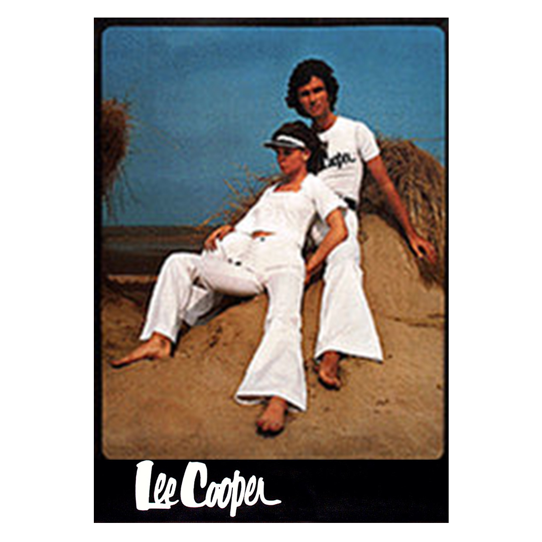 Today we are feeling the 1970s summer white-flare vibe from the Lee Cooper archives.  #FlashbackFriday #FBF #archivepic.twitter.com/kp8QQearTx