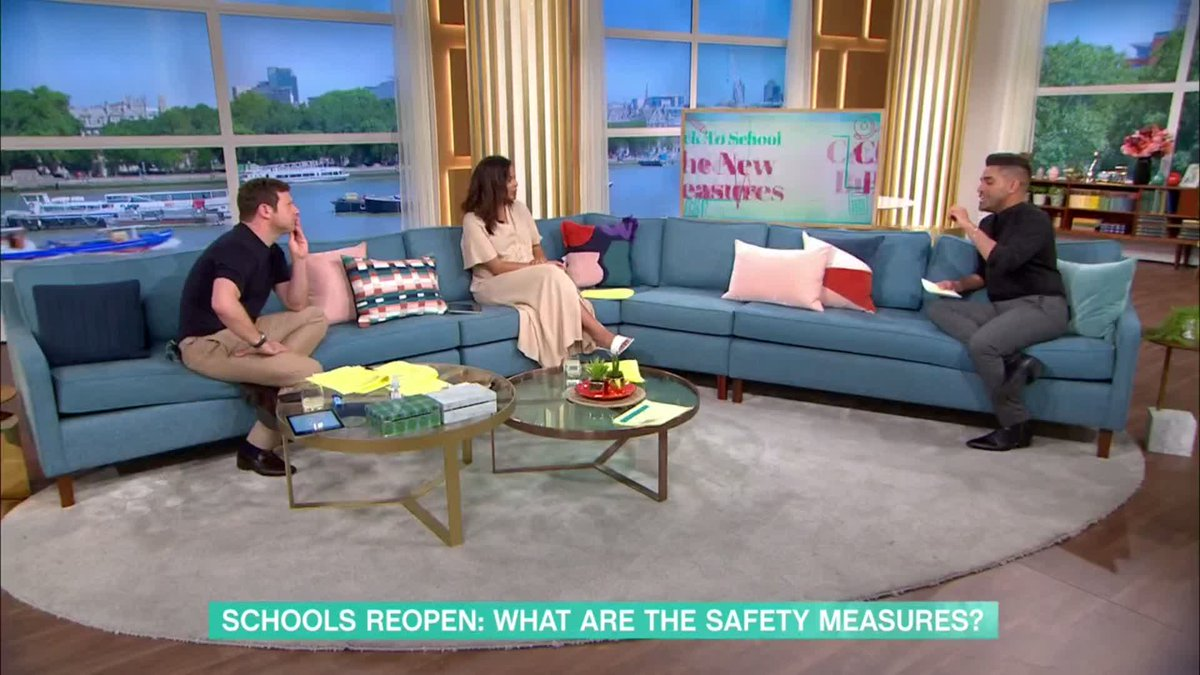 We wouldnt be doing this unless it was safe enough for children to go to school Dr Ranj explains the safety measures in place for when schools reopen around the country. Watch Ranjs full interview 👉youtu.be/rQ0ITRMmboI #ThisMorning