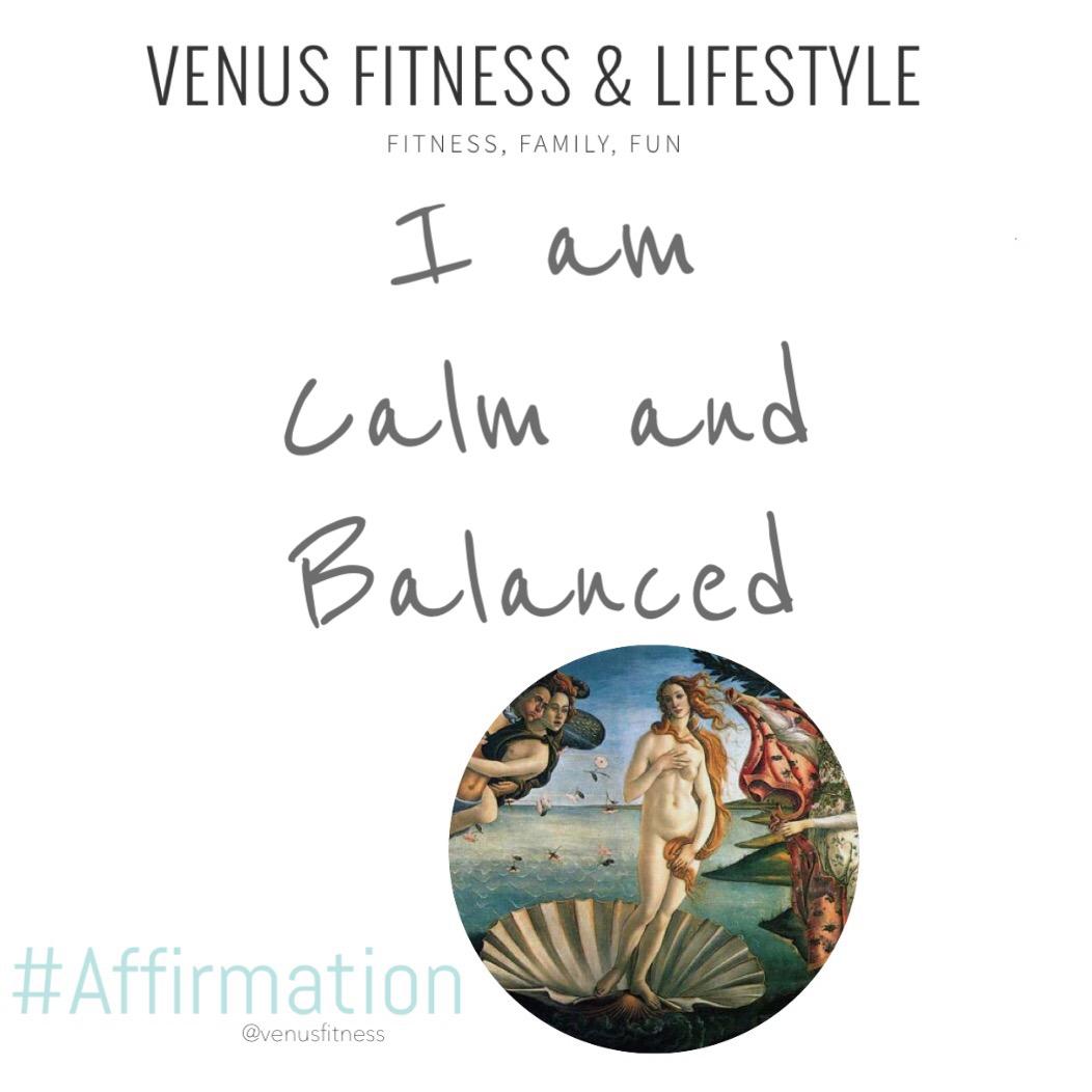 I am calm and balanced.  #VFAffirmation #2020Goals pic.twitter.com/TYYGi4mOUI