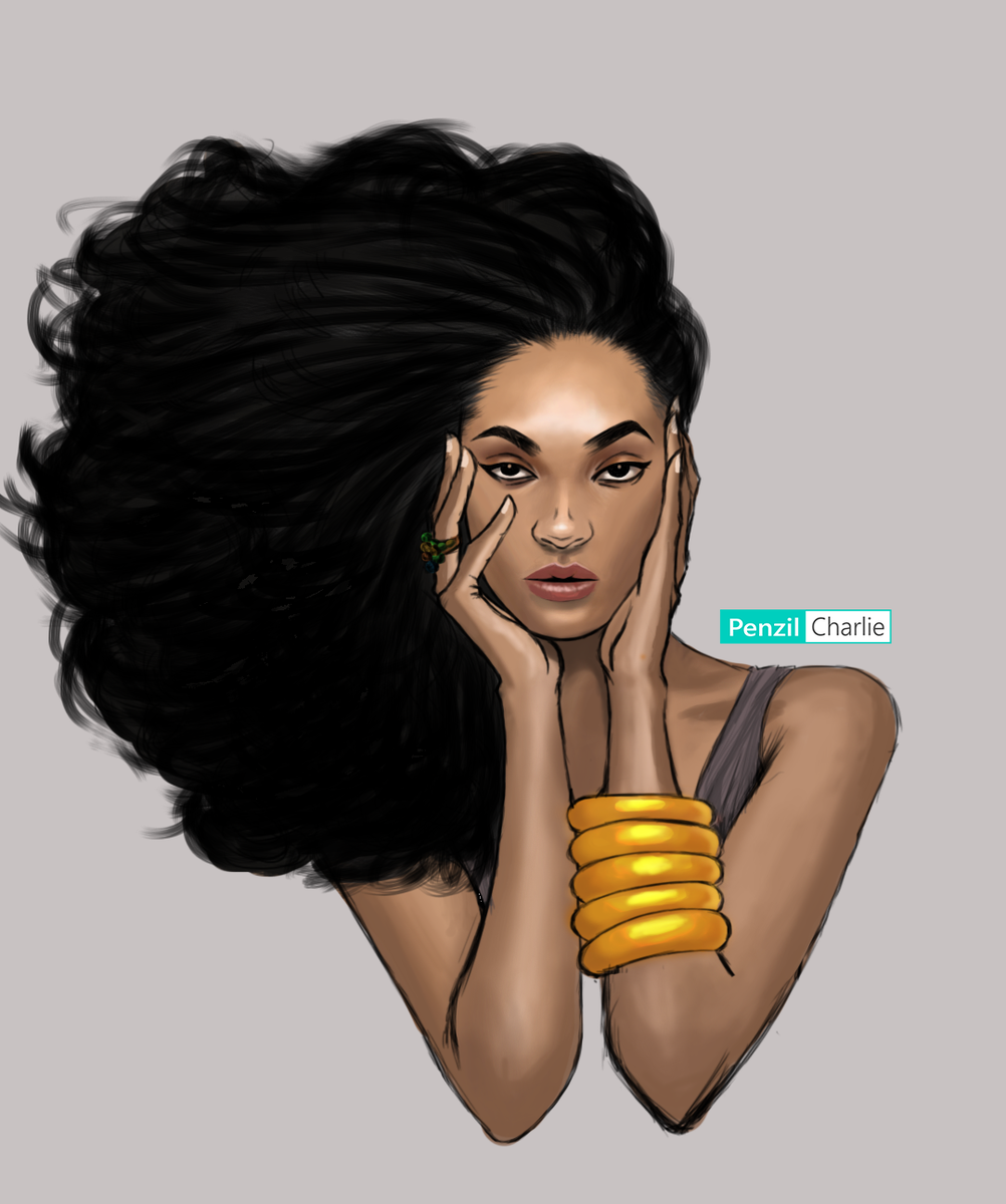 My very first digital artwork. Took a lot of youtube tutorials and 72 hours to get this right But It was worth it tho. Hope you guys like it#art #digitalart #BlackIsKing #portraitpainting pic.twitter.com/PcyDaMXyCu
