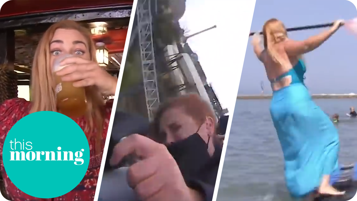 If there is one person we can rely on to give everything a go, its @Josiestweet. From testing mask-wearing on rollercoasters to nearly getting electrocuted in a pub, shes always up for the challenge! Watch Josies funniest moments 👉 youtu.be/SEIdLRcftTE #ThisMorning
