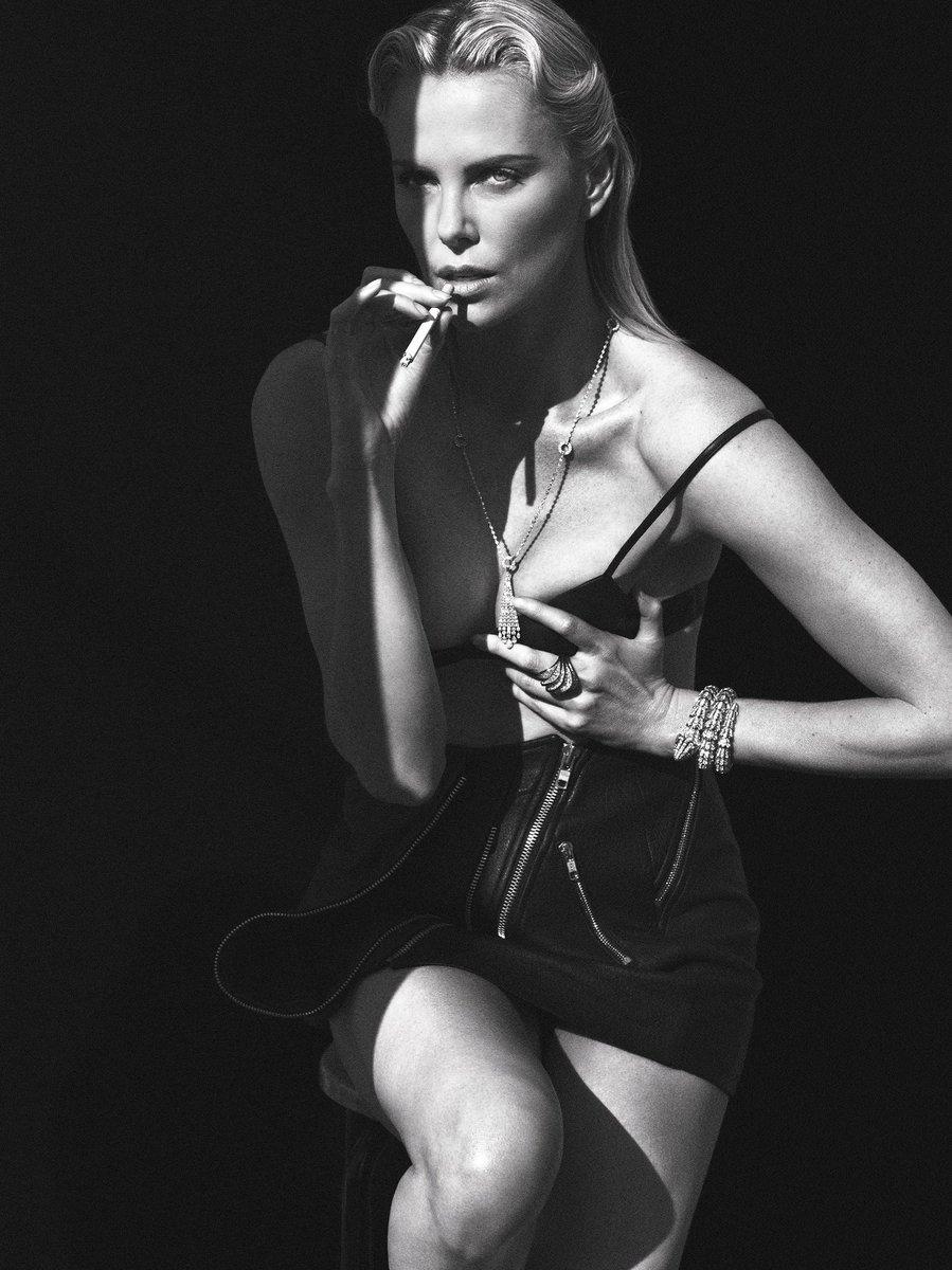 #CharlizeTheron